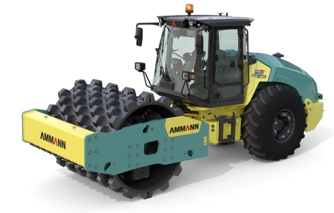 AMMANN ASC 220 SINGLE DRUM ROLLER